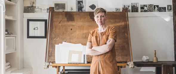 法国雕塑家 Sarah Kaye Rodden 的居住与工作空间