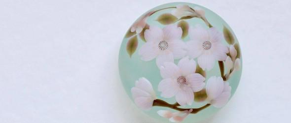 让四季的流转融入玻璃器物之中 | 日本玻璃艺术家川北友果作品精选