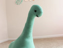 DIY缝纫教程:制作大型的尼斯湖怪兽羊毛毡玩偶diy教程