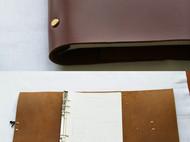 复古笔记本 笔记本头层牛皮手缝活页记事本travelnotebook