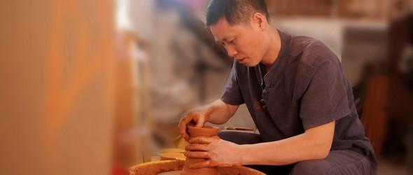 术到极致近于道 诚至灵魂方显真 ——访建盏工艺师高谟和