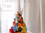 彩色圣诞树