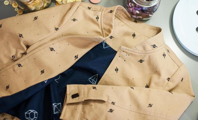 【小星球世界系列】全棉儿童夹克外套