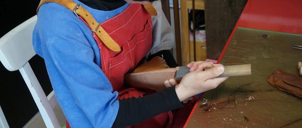 超详细的手工鞋制作教程第八回 - 上大底(外底)