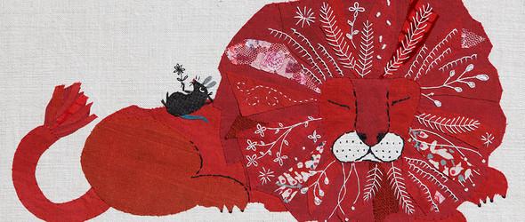 Mika Hirasa | 刺绣拼贴艺术画
