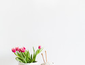 纸袋花盆DIY教程:折一个网红纸袋当花器,让植物也文艺起来!