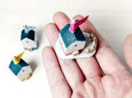 多彩时光木艺小屋房子手工景观模型DIY材料家居装饰艺术摆件节日创意礼物