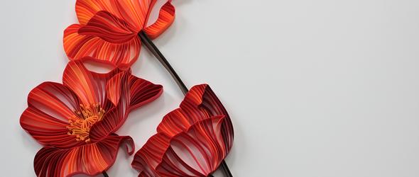 衍纸花卉与树叶🍂 | JUDiTH+ROLFE纸艺工作室