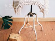 六等星 创意美式田园手工编织餐垫杯垫隔热垫 可定制桌旗地垫地毯