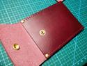简约风格手缝零钱卡包超详细教程