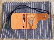 RM钥匙包 手作植鞣革