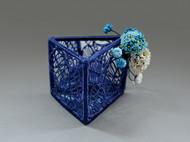 团花聚美|绣球花雕塑艺术收纳|笔筒|摆件