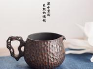 古城记忆公道杯(细石柄)建水紫陶【泰子陶艺】原创定制 国家专利
