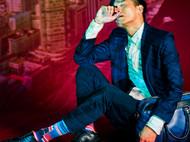 意品造物玩酷子弟【城市系列_纽约】Empire-State男女印花运动袜