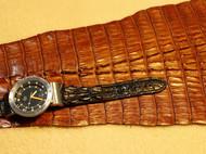 鳄鱼皮表带定制
