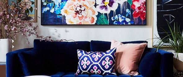 灵感 | 艺术装饰画与家居色彩