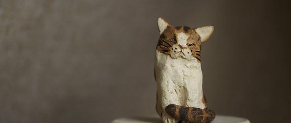憨态可掬的粘土动物玩偶|深尾竜騎