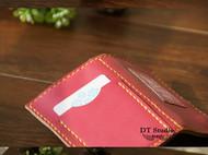 纯手缝进口牛皮皮标款钥匙包