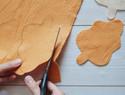 家居创意DIY:秋天的红叶不织布挂饰制作教程