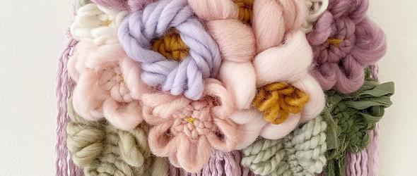 花朵盛开在挂毯之中 | Caroline Langford