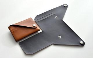 皮艺diy视频教程:如何制作一个简易的皮革钱夹/卡包?