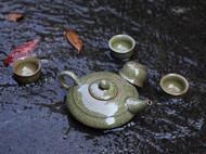 米黄哥窑问天茶具···帅气······