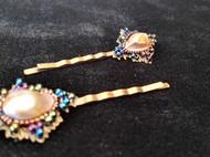 手工复古洛可可风格珍珠发饰