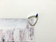 入口/ENTRANCE独立设计 天然青金石925银防过敏 个性独特 百搭 手工戒指