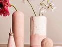 DIY几何体混凝土花瓶