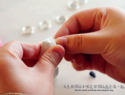 简单方法手工制作大理石纹理滴胶宝石手链