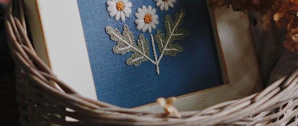 清新复古的十字绣与刺绣 | Elena Sycheva