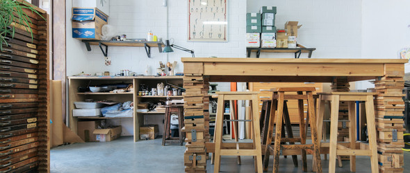 当代设计和传统印刷的融合- 西班牙 El Calotipo Printing Studio工作室