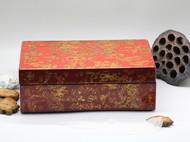 一个很好看 很好看 艺术化效果的漆盒