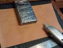 皮革定型/湿法定型教程:简单制作zippo打火机套教程