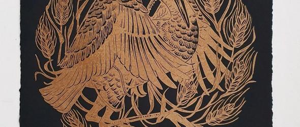 暗黑的魔法森林 - 版画师Maarit Hänninen作品选集