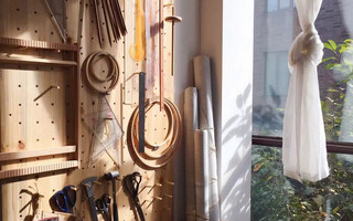 DIY洞洞板工具墙