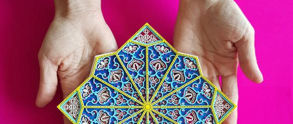 精密复杂的激光雕刻纸雕 | 纸艺家 Julia Ibbini 纸雕作品选