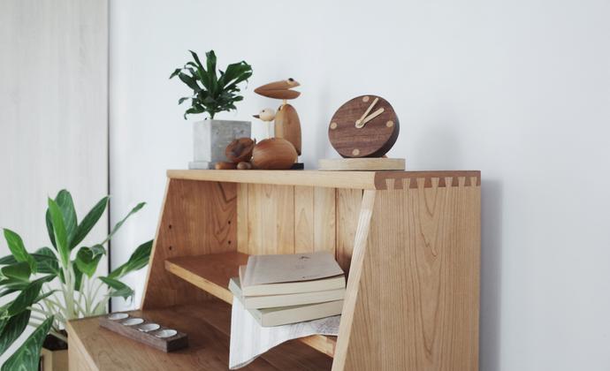 木质小闹钟