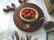 温润可人,安心耐久,没有什么比木质餐具更能愉悦口腹身心了!