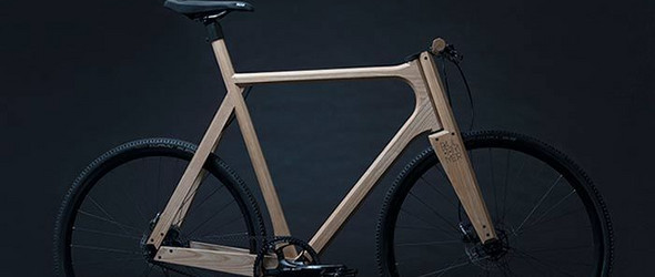 Paul Timmer:The Wooden Bike黑白配的木制自行车