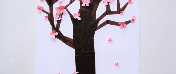 DIY创意与教程:与孩子一起玩的纸胶带拼贴画