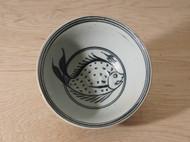 日本陶瓷 日式和风食器 鱼 大碗 餐具 直邮 包邮