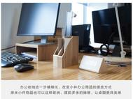 梵瀚文件盒 档案盒整理夹座资料单据小杂志办公桌面收纳盒置物架