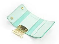 意大利擦蜡植糅革手工原创多功能真皮女士钥匙包
