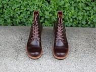 铁履 IRON BOOTS horween CXL 酒红 5515伞兵靴