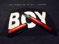 小叶红檀手工笔