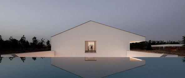六组唯美的白色几何体建筑设计(组图)