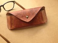「乌塔塔」巧合 植鞣染色眼镜袋