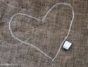 布条刺绣教程 - 废布刺绣可爱的心形图案装饰画
