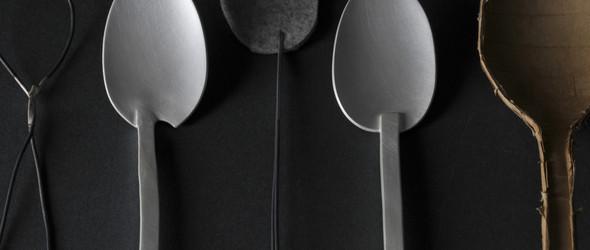 德国设计师 Simone ten Hompel 的手工银器和餐具